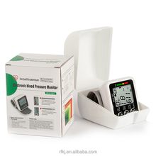 China Supplier Omron Digital wrist Blood Pressure Monitor with WHO indication