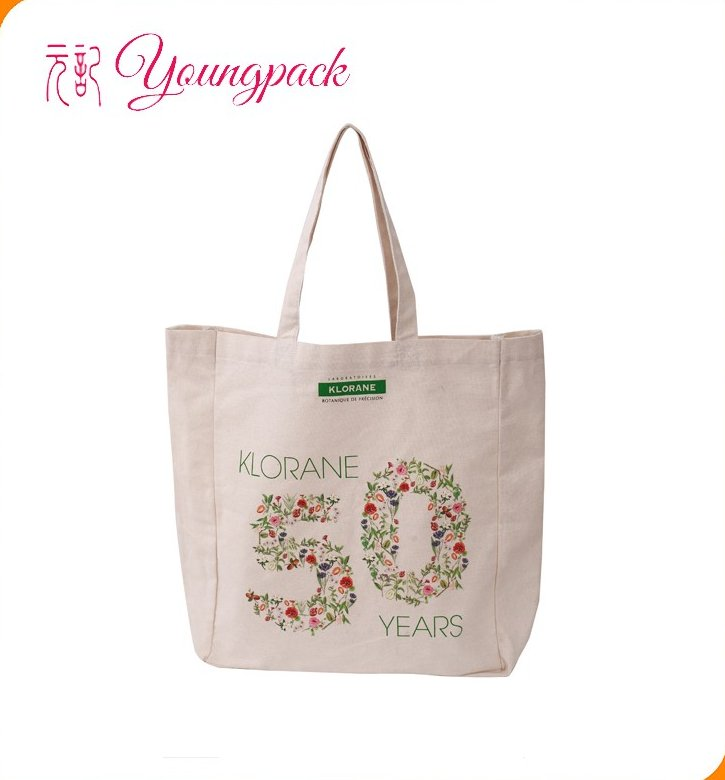 Customized Wholesale Standard Size Beach Cotton Canvas Bag