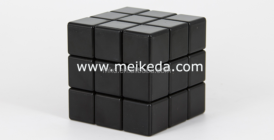 Meikeda Personalized New Black Sublimation magic puzzle cube