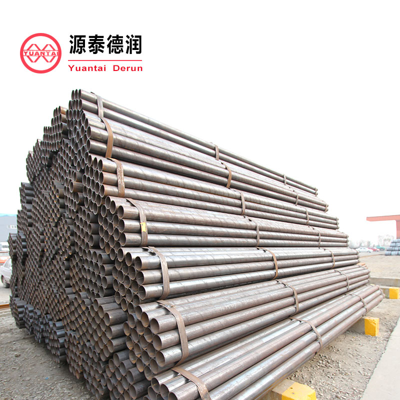 favorable price black welded tube 666 china manufacturer