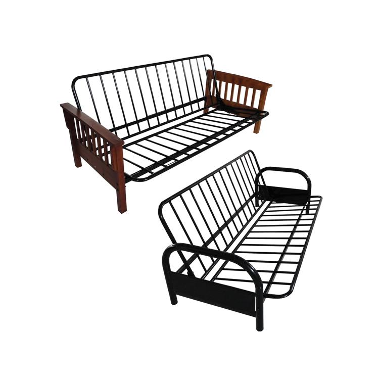 Ironjarl Black Frame Metal Folding Sofa