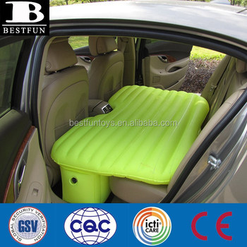 Pvc Inflatable Car Sex Airbed Durable Plastic