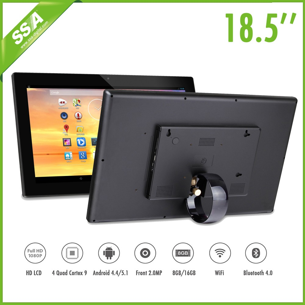 USA market style 10 Full HD LCD Screen Android4.4 lcd advertising broadcast