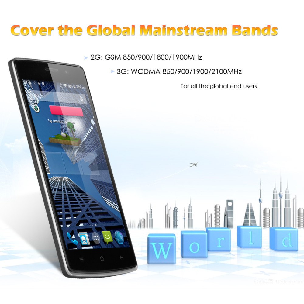 "Original New 5"" LANDVO L200 IPS Screen 3G Smartphone Android"