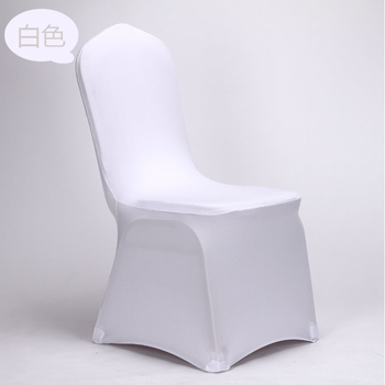 Spandex/polyester Universal Chair Cover For Wedding,hotel And Event