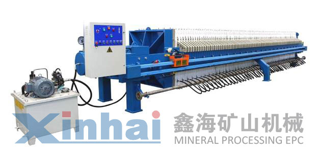 Mineral Plate And Frame Filter Press Machine Filter Press