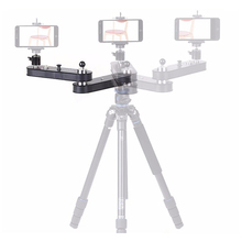 Lega di alluminio GT-V70 wieldy 4X estensione portatile dslr video telefono mini action <span class=keywords><strong>camera</strong></span> <span class=keywords><strong>slider</strong></span>