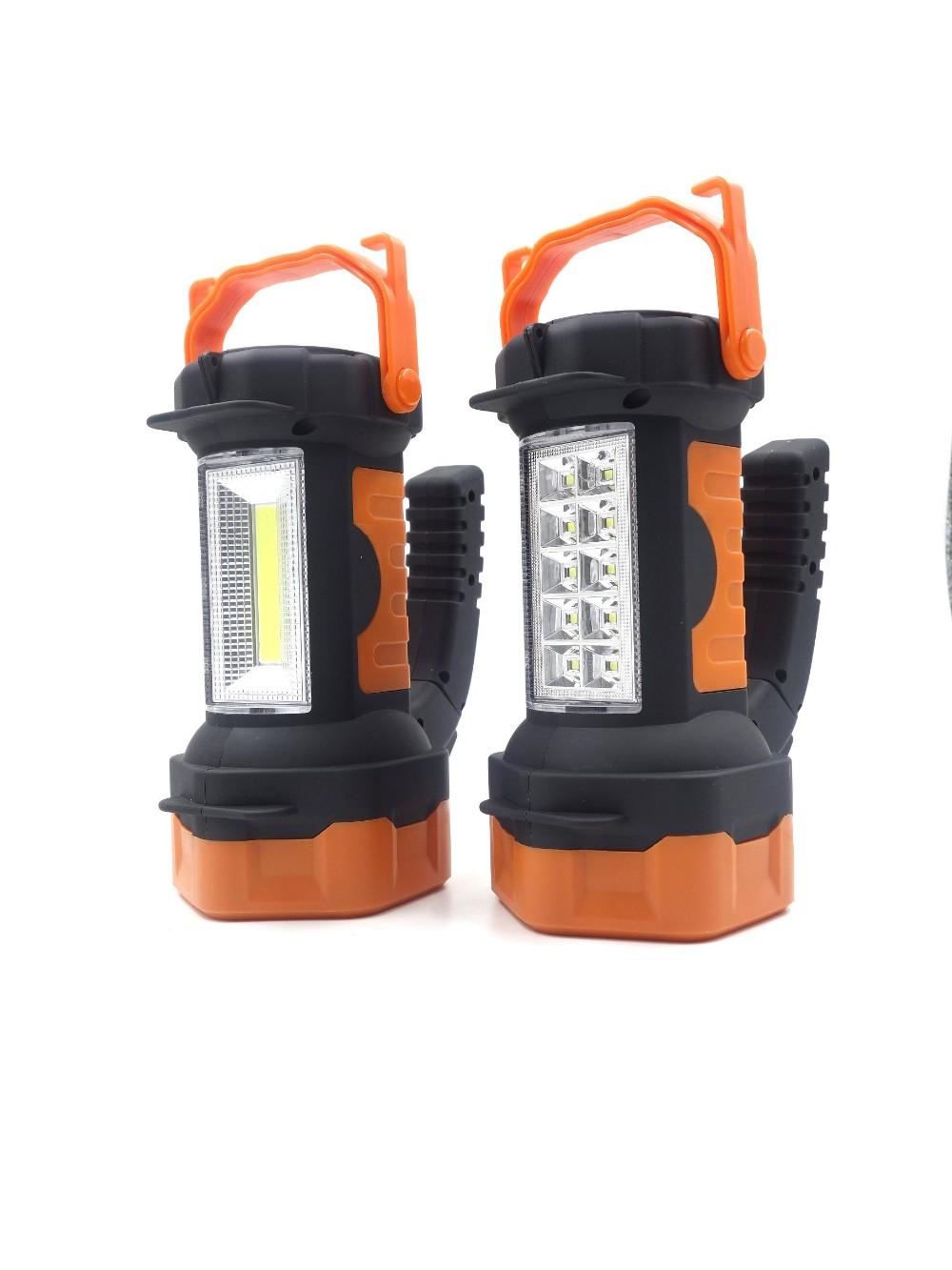 Waterproof Spotlight COB/SMD 250 Lumen Flashlight Torch Hand-held Searchlights Portable Search Light Concentrating Work Lights