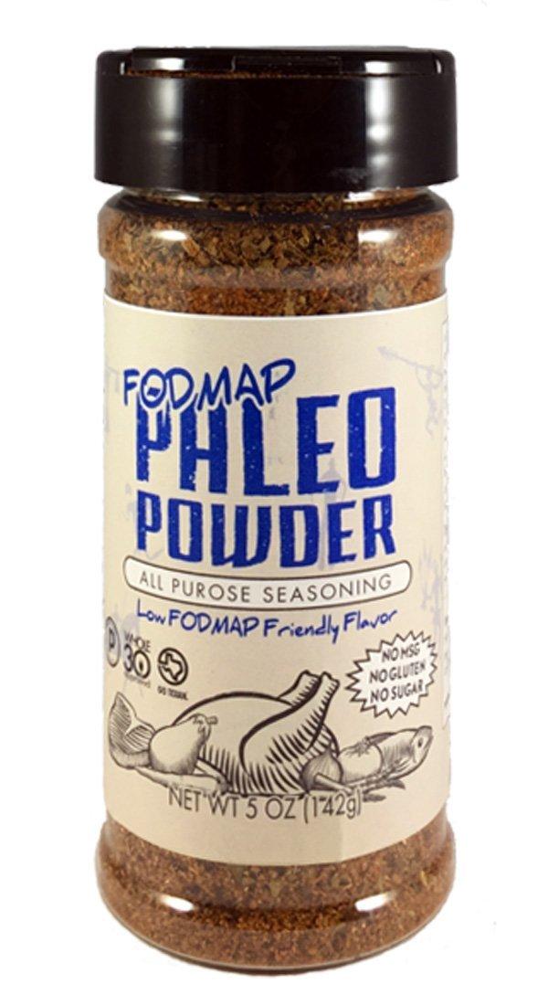 Paleo Powder Fodmap All Purpose Seasoning. The Original Low Fodmap Paleo Food Seasoning Great for all Paleo Diets! Certified Ketogenic Food, Paleo Whole 30, Low Fodmap Food, Gluten Free Seasoning.