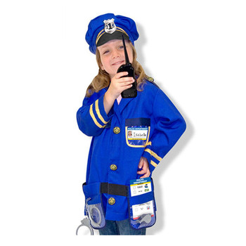 Cheap kids police officer cosplay costumes for sale