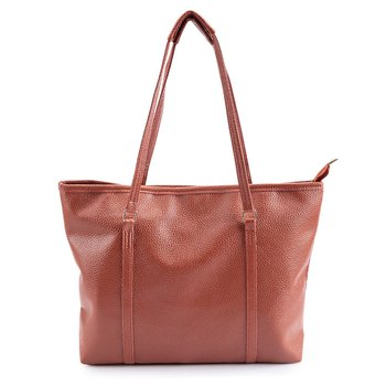 2016 New Arrival Fashion Women Shoulder Bags Large Style PU Leather Handbags  Plain Functional Totes 42784ab8aa