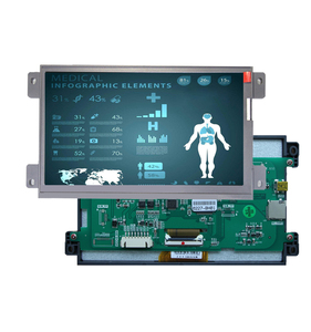 PLC HMI with smart tft lcd module with software and program
