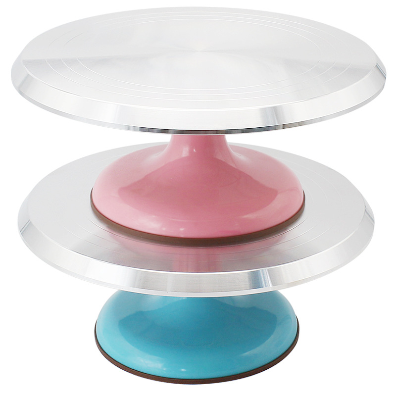 Aluminium Revolving Rotating Cake Decorating stand