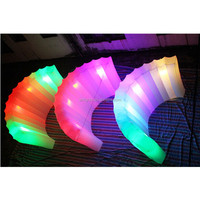 Attractive inflatable LED light wall with remote control