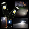 Switchback LED Bulbs Extremely Bright White 3030 14SMD T20 7443 W215W Car Brake Tail Light