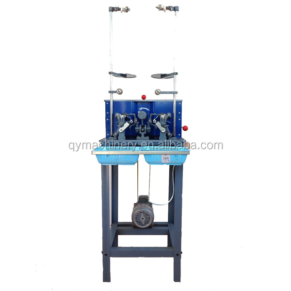 silicon bobbin winder two heads winding machine