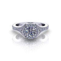 Gemnel jewelry fashion new trendy wholesale ring mount for engagement