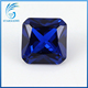 1.5*1.5mm princess cut synthetic sapphire gemstone