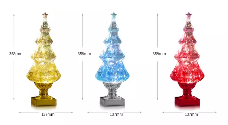 Luxury christmas lights outdoor home decoration tree figures