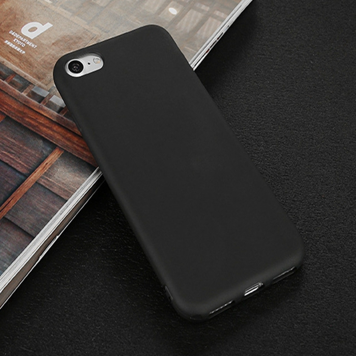 Shockproof Thin Soft TPU Silicone Matte Back Case Cover for iPhone 5 6 7 7Plus