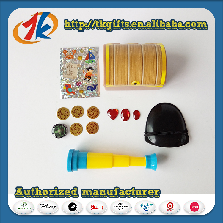 Educational Toy Funny Pirate Treasure Set Toy For Kids