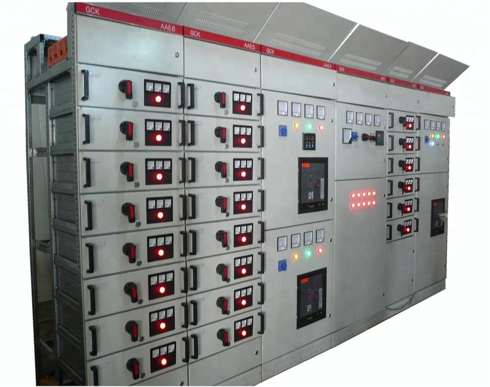 MNS/GCK/GCS/GGD low voltage electrical/electric switchgear panel/switchgear cabinet