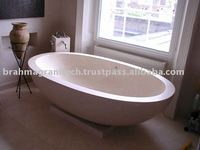 bathtub granite stone