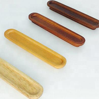 10 x OAK HANDLES 96mm deluxe solid wood cupboard door drawer wooden handle 170