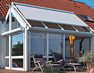 Glass Roof Retractable Awning and Canopy For Sale