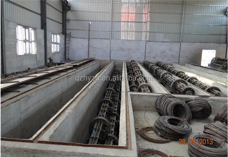 Conduit In Concrete Pole : Prestressed concrete pole making machine for power