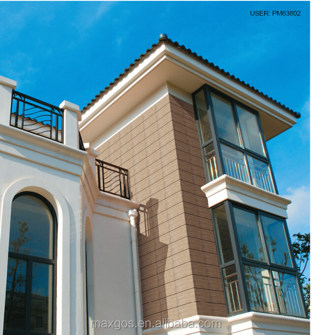 China made popular building materials competive price villa and house exterior wall tiles buy Materials for exterior walls