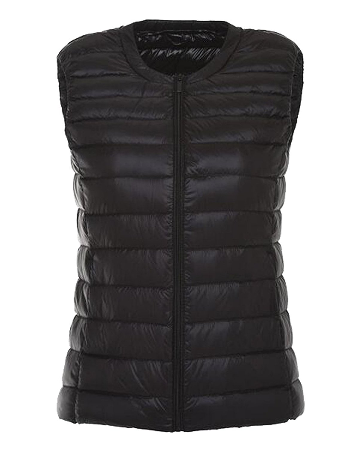 Fensajomon Women Winter Hooded Short Down Quilted Puffer Jacket Coat