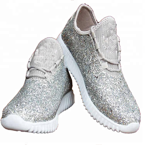 6b23c07ee165d Tennis Shoes Women Personalized Monogram Glitter Bomb Mesh Sneakers