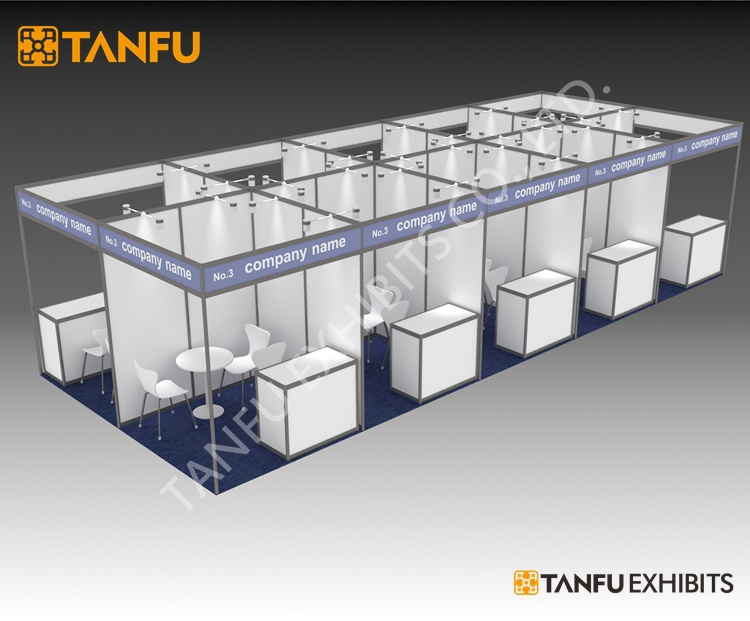 Exhibition Booth Number : Tanfu or mx m standard exhibition booth for trade show buy