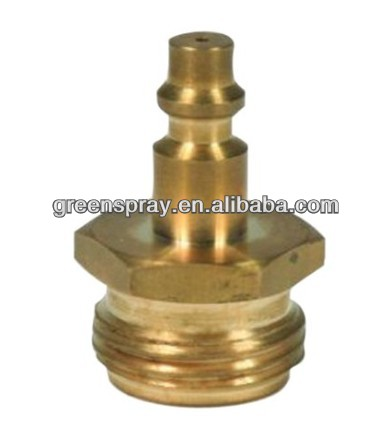 Blow Out Plug with Brass Quick Connect