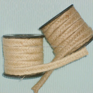 Jute rope with plastic cord for Garden string