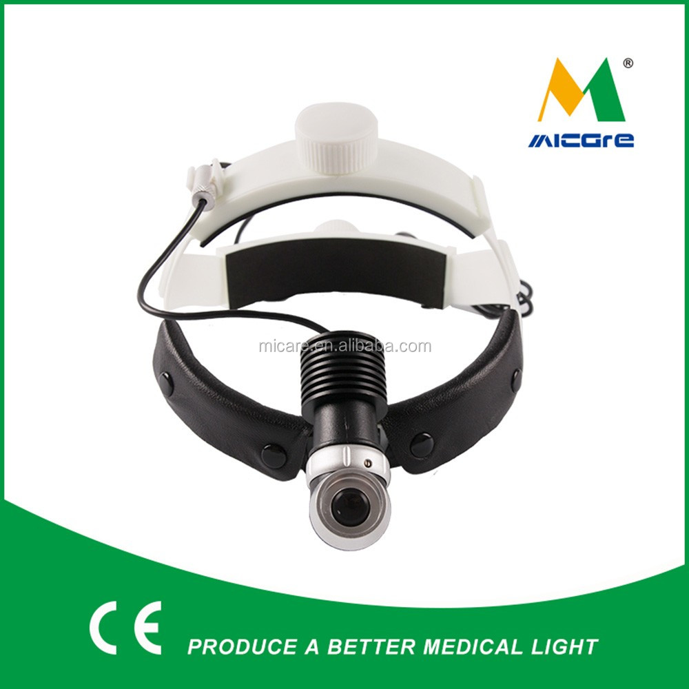 Sport size adjustable led surgical headlight focusable 10w ENT headlamp
