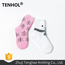 Wholesale funny christmas warm organic dreamgirls in socks