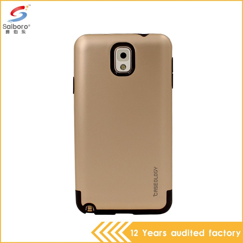 Attractive appearance new arrival gold case for galaxy note 2