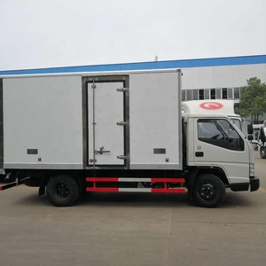 JAC Freezer Food Transport Reefer Van Truck Refrigerated Truck