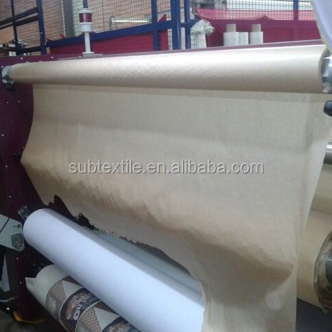 Good isolation 30gsm pure wood pulp made sublimation protection tissue paper for Monti calander sublimation press machine