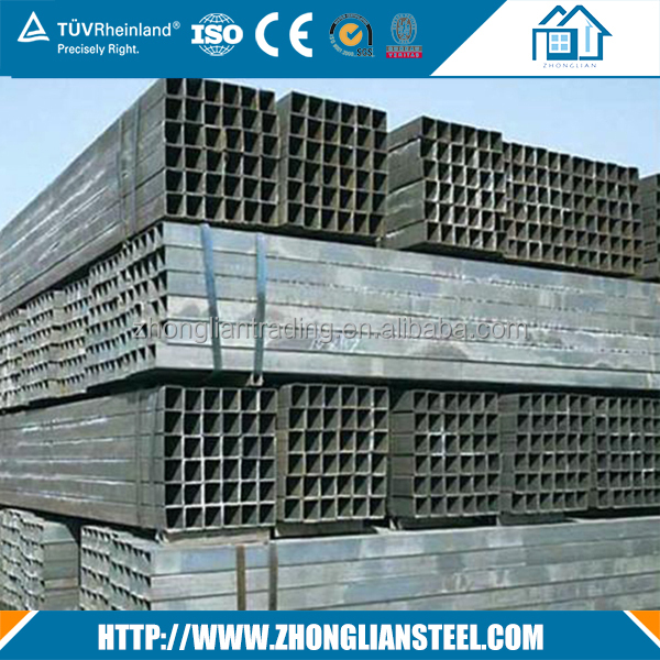 Factory Price Hot Rolled Galvanized Square Hollow Steel Pipe Tube 8