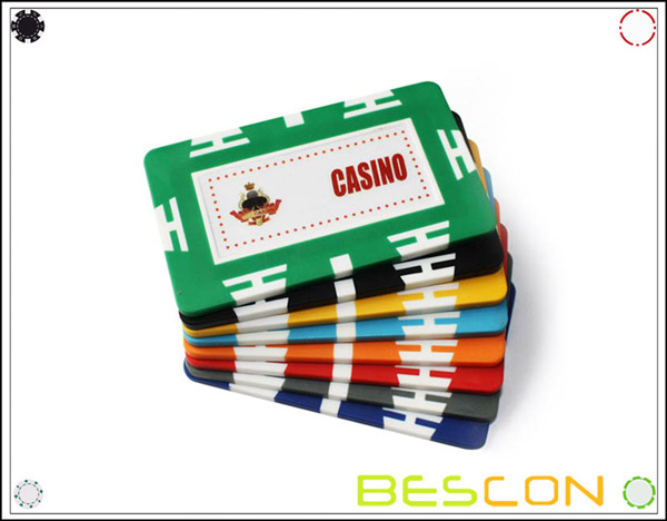 cheap custom sticker poker chips