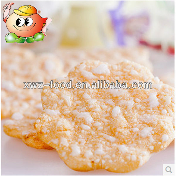 Yellow Pumpkin pie cracker
