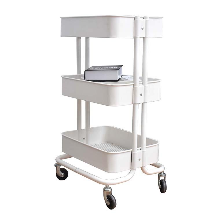 White Color Raskog Trolley Kitchen Trolley Prices Metal 3 Tier Rolling Cart  - Buy Metal 3 Tier Rolling Cart,Kitchen Trolley Prices,Raskog Trolley ...