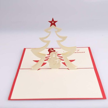 Creative 3d papercraft origami greeting card funny gift box happy creative 3d papercraft origami greeting card funny gift box happy christmas gift m4hsunfo