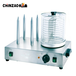 Commercial Electric Hot Dog And Bun Warmer With 4 Spikes