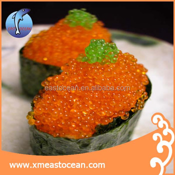 Tobiko caviar sushi grade tobiko flying fish roe tobiko for Buy sushi grade fish online