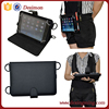 stand cover for ipad air 2 mini pro leather case with neck/shoulder strap