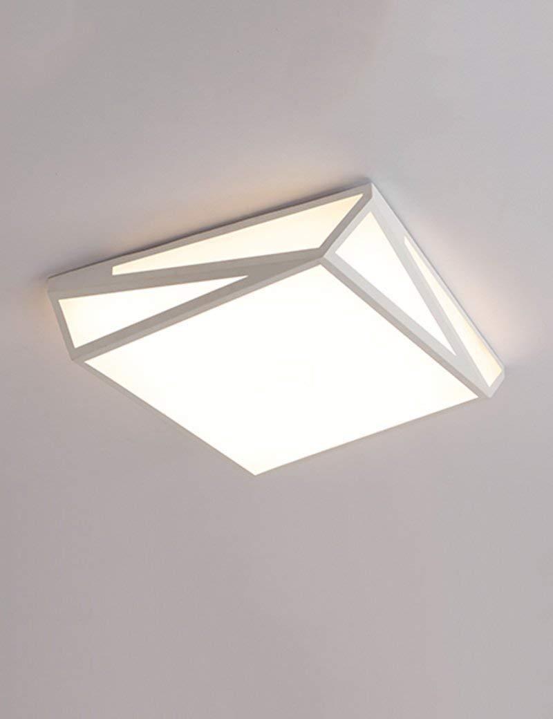 XQY Ceiling Light-Geometric Led Warm and Romantic Bedroom Simple Modern Creative Energy Saving